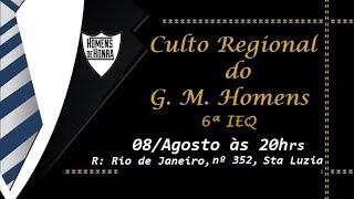Culto Regional de Homens 6ª IEQ