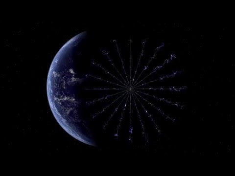 Animation of Heliopause Electrostatic Rapid Transport System (HERTS)