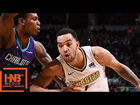 Denver Nuggets vs Charlotte Hornets Full Game Highlights / Feb 5 / 2017-18 NBA Season
