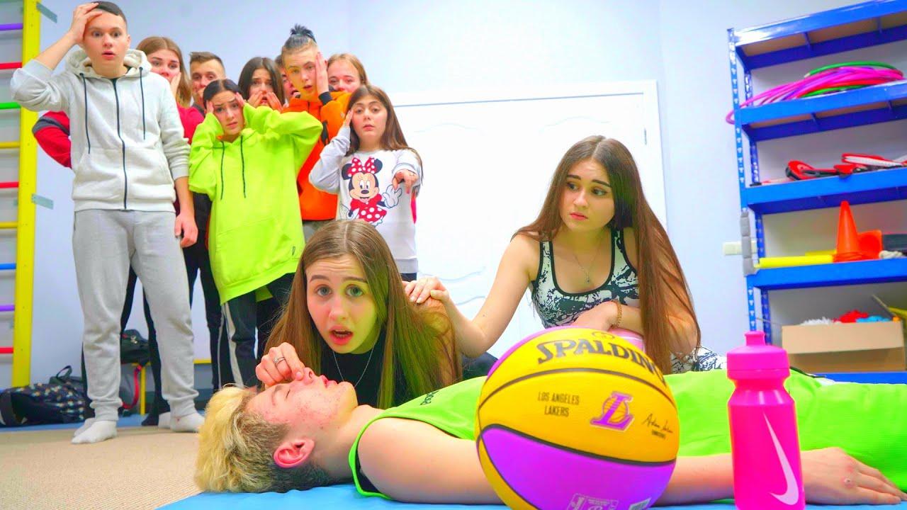 Diana salva a un jugador de baloncesto! ¿Quién arruinó un entrenamiento en la escuela?
