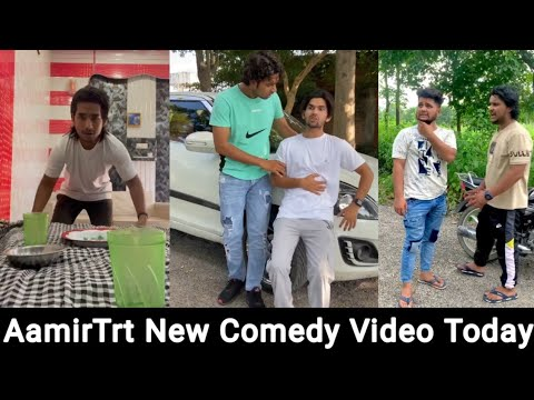 "AamirTrt Comedy Video Today "" Latest Comedy Danish Faizan Nadir Today 🤣"