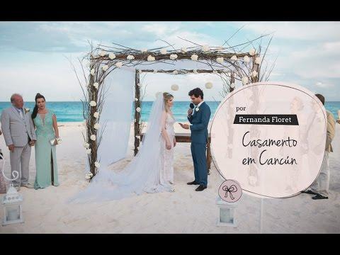 Casamento em Cancún - Por Fernanda Floret
