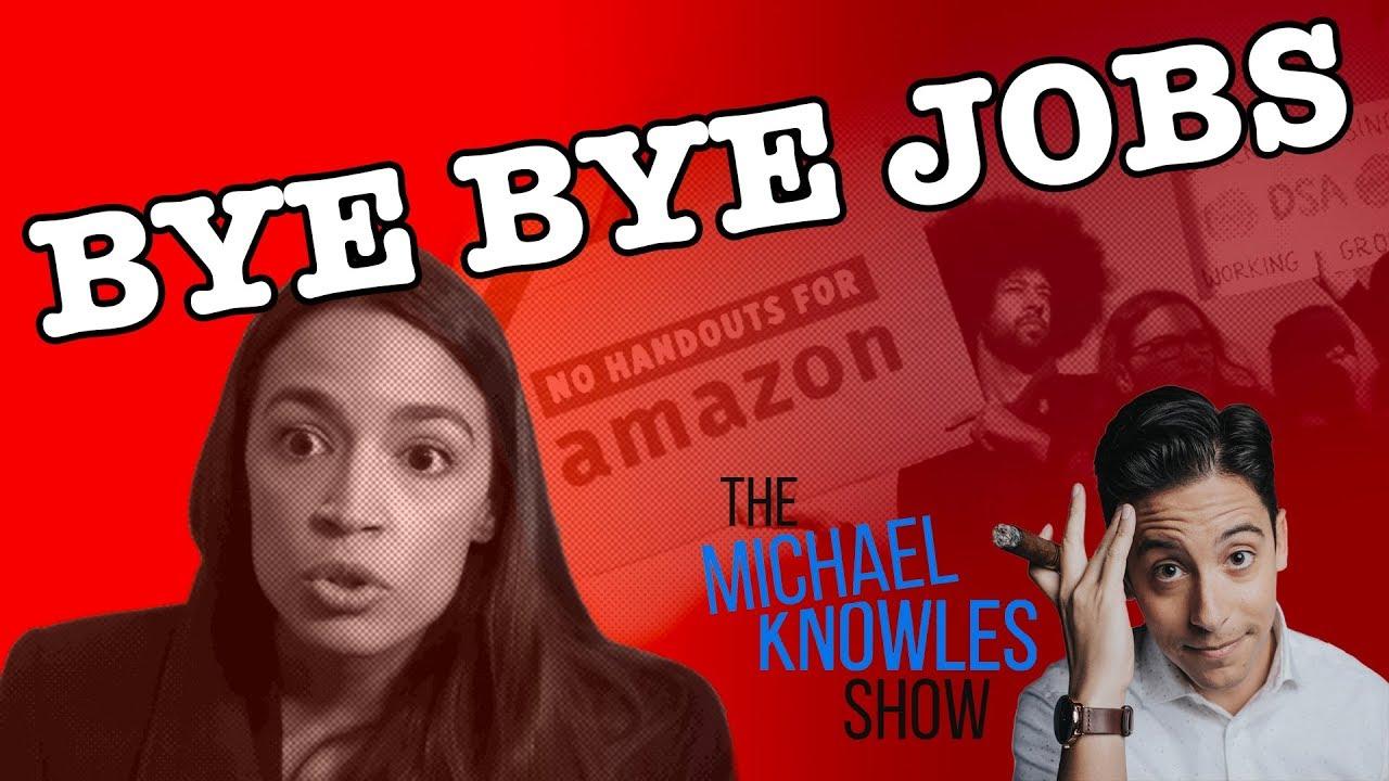 Alexandria Ocasio-Cortez Chased Amazon Out Of New York City