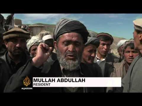 Afghan landslide survivors complain about aid supply