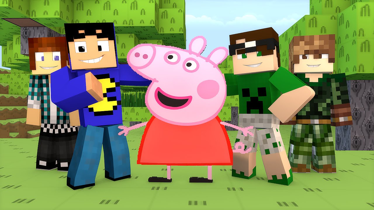 Minecraft Pig In Build Battle