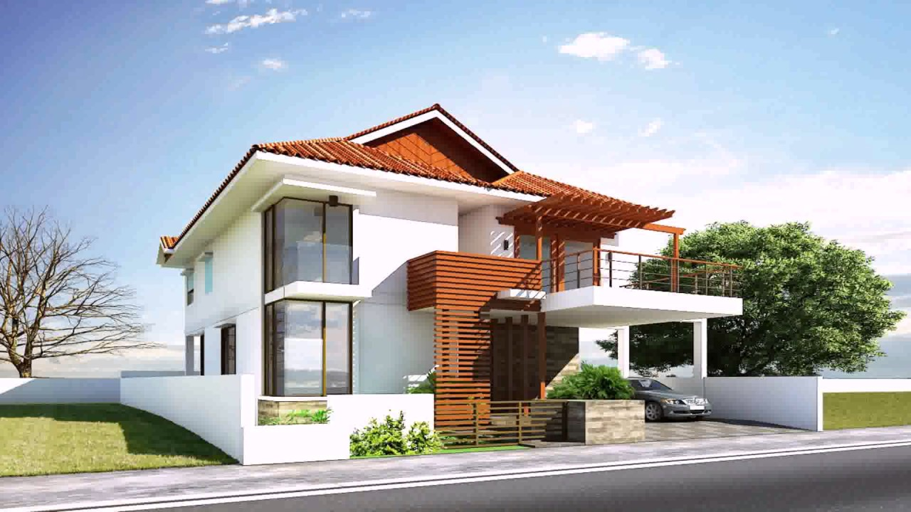 Modern house design in sri lanka youtube for Sri lanka house plans designs