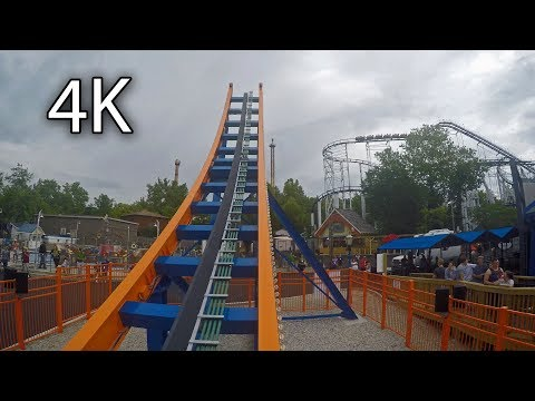 Spinsanity on-ride 4K POV Six Flags St. Louis
