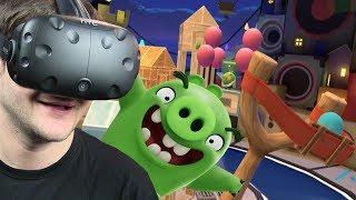 OSTATNI BOSS - Angry Birds VR: Isle of Pigs #4 (HTC VIVE VR)