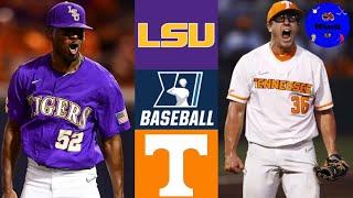 LSU vs #3 Tennessee Highlights | Super Regional Game 1 | 2021 College Baseball Highlights