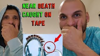 Gambar cover Ultimate Near Death Video Compilation [REACTION]