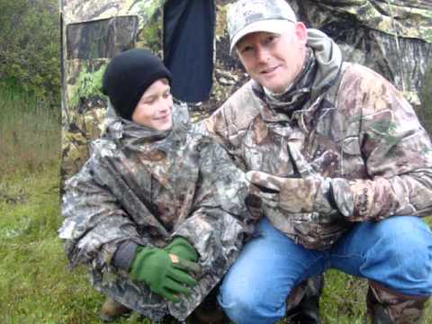 Caleb And Kerry On 2011 Spring Turkey Hunt In California