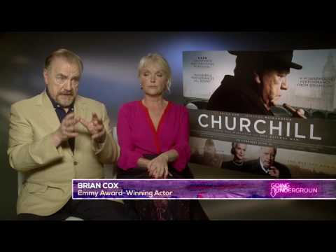 Brian Cox and Miranda Richardson on Churchill, D Day and London Terror