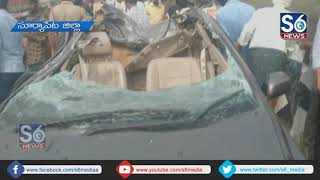 Road Accident in Suryapet District || S6 Media