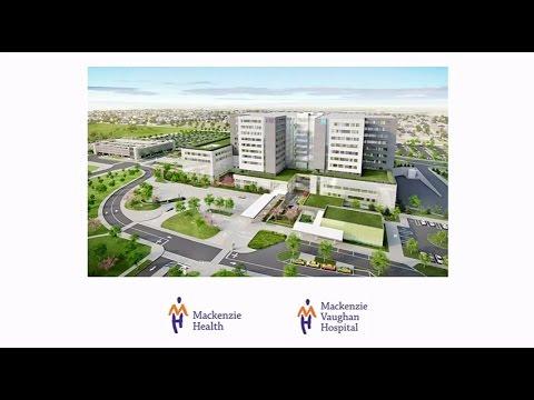 Mackenzie Vaughan Hospital Ground Breaking Event - Oct 25 2016
