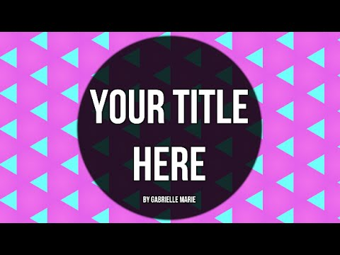 Animated background title animations youtube - Title wallpaper ...