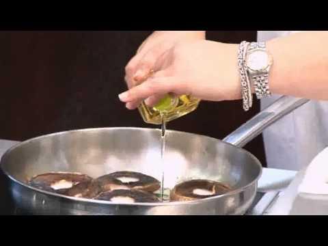 Spinach & Feta Stuffed Mushroom Recipe