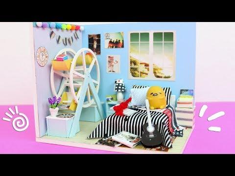 DIY Miniature Dollhouse Kit: Jered's Room