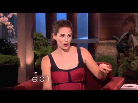 Jennifer Garner on Drinking With Martha Stewart