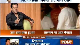 Salman Khan in Aap Ki Adalat - On Hit and Run Case - India TV