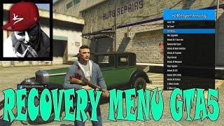 MOD MENU GTA5 ONLINE FREE RECOVERY 1.26/1.27 +DOWNLOAD
