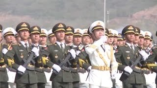 Watch: Debut of Chinese PLA military parade in Pakistan
