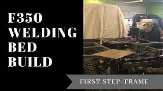 LET'S BUILD A WELDING BED | PART 1: FRAME