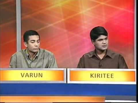 University Challenge India: IIT Kanpur v CEG Chennai