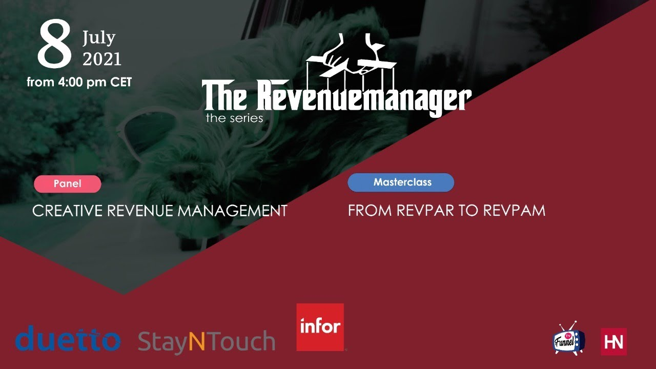 Creative Revenue Management - Episode #7 of THEREVENUEMANAGER