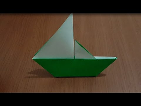 Cara Membuat Origami Perahu Layar Dengan Cepat