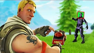 I USE AIMBOT? -HIGHLIGHTS 5-Fortnite @BlackSnakes @MDN (sorry for the low quality)