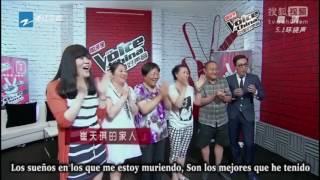 Mad World - The Voice of China (Subtitulado en español)