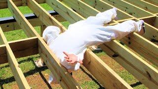 Challenges of Building a Deck Frame - Building a Deck Part 1