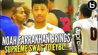 Noah Farrakhan SUPREME SWAGGIN' All Over Nike EYBL Indy!!! (full highlights) thumbnail