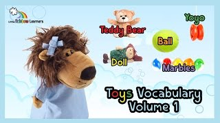 Learn English vocabulary videos for kids & ESL: Learn Toys vocabulary