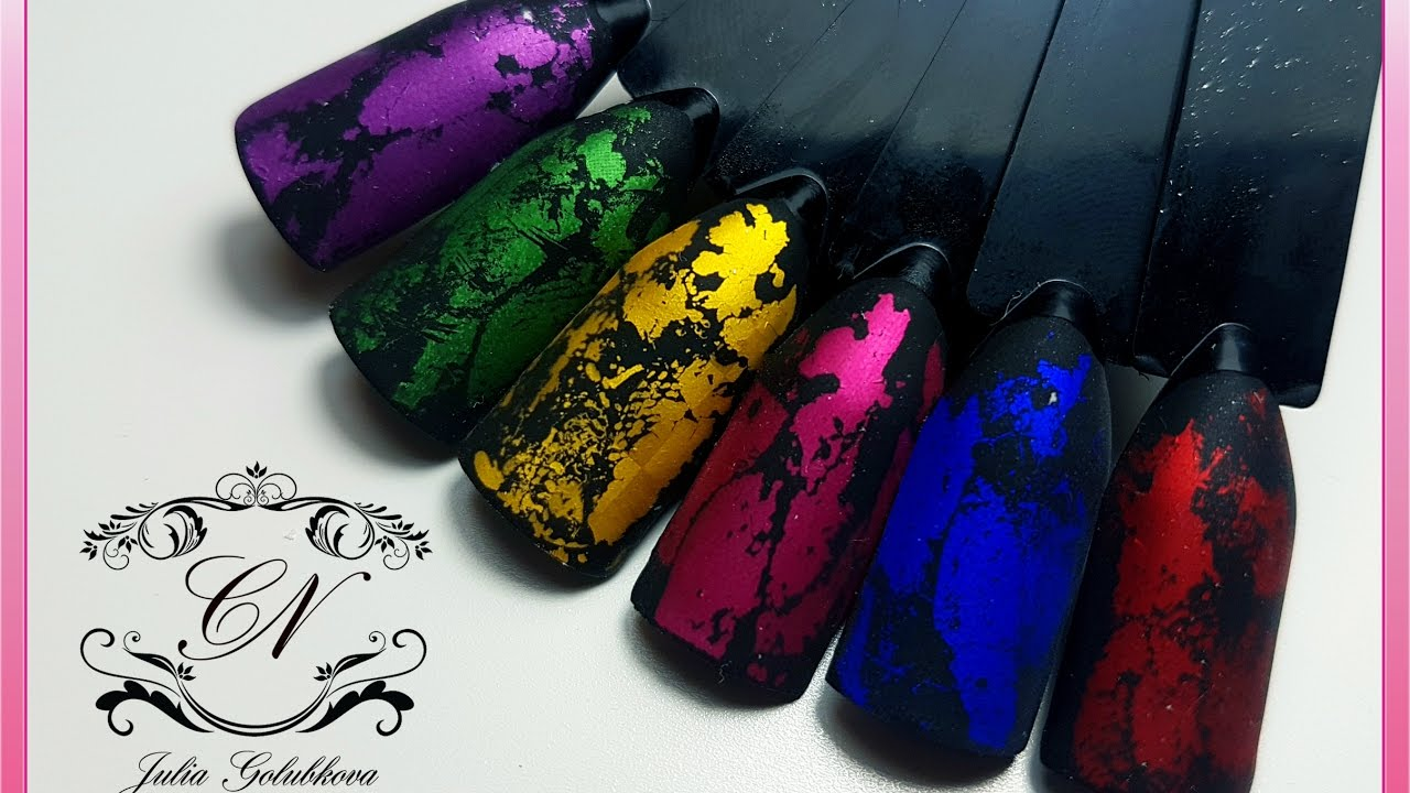 ♥Экспресс дизайн ногтей за 30 секунд ♥