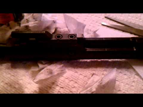 How to disassemble and clean a DPMS AP4 AR-15 (Hybrid Sight At The End Of Video)