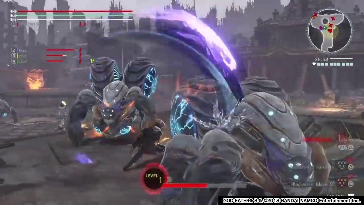 God Eater 3 Gameplay - YouTube