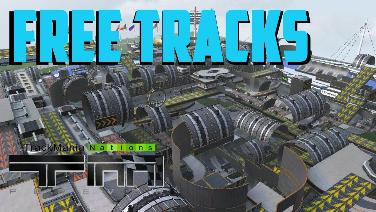 trackmania nations forever strecken
