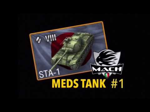 Gighen guide Medi: STA-1 #1 Mastery game wot blitz ITA