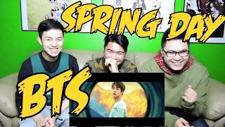 Video BTS - SPRING DAY MV REACTION (FUNNY FANBOYS) download MP3, 3GP, MP4, WEBM, AVI, FLV Maret 2018