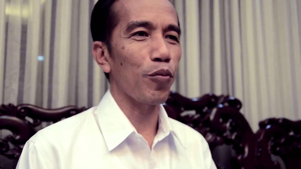 Ucapan Terima Kasih Joko Widodo Kepada Relawan Kawan Jokowi