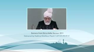 Eid-ul-Adha Sermon Quote - Part 2 (Urdu)
