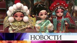В ГУМе решили красочно отметить наступление Нового года по китайскому календарю.