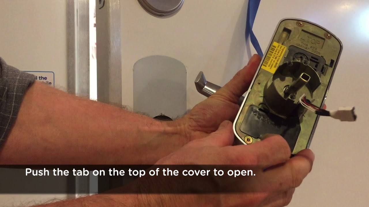 SmartLock Battery Replacement Video