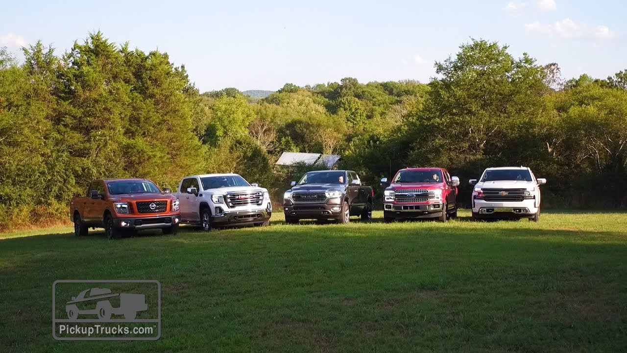 What's the Best Half-Ton Truck for 2018? – PickupTrucks com