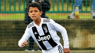 New Football Talent: Cristiano Ronaldo JR. (Football Plays: Skills, Goals, Freekick & Tricks)