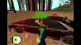 (Loquendo) (GTA SA) Mario y Luigy cuidan el hijo de CJ