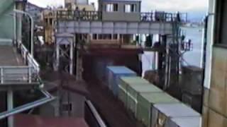 青函連絡船 着岸から離岸まで (後編) 羊蹄丸 函館桟橋
