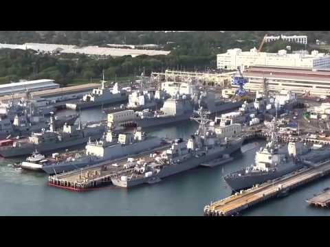 US aircraft carrier in the South China Sea HD 294   Pearl Harbor Full Of Warships ^ ^✔   YouTube 720