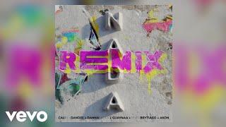 Cali Y El Dandee, Danna Paola, Guaynaa - Nada (Remix / Audio) ft. Brytiago, Akon